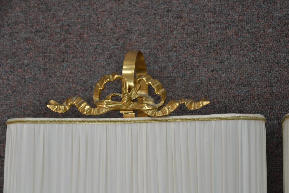 (Pr) DESIGNER BRONZE SCONCES WITH LION HEAD - 7