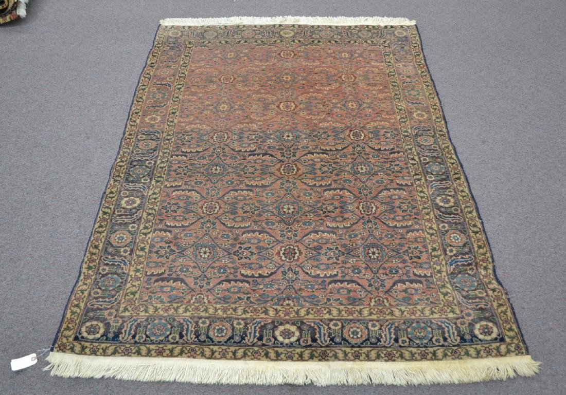 "ANTIQUE 4' 9"" x 6'  RUG"
