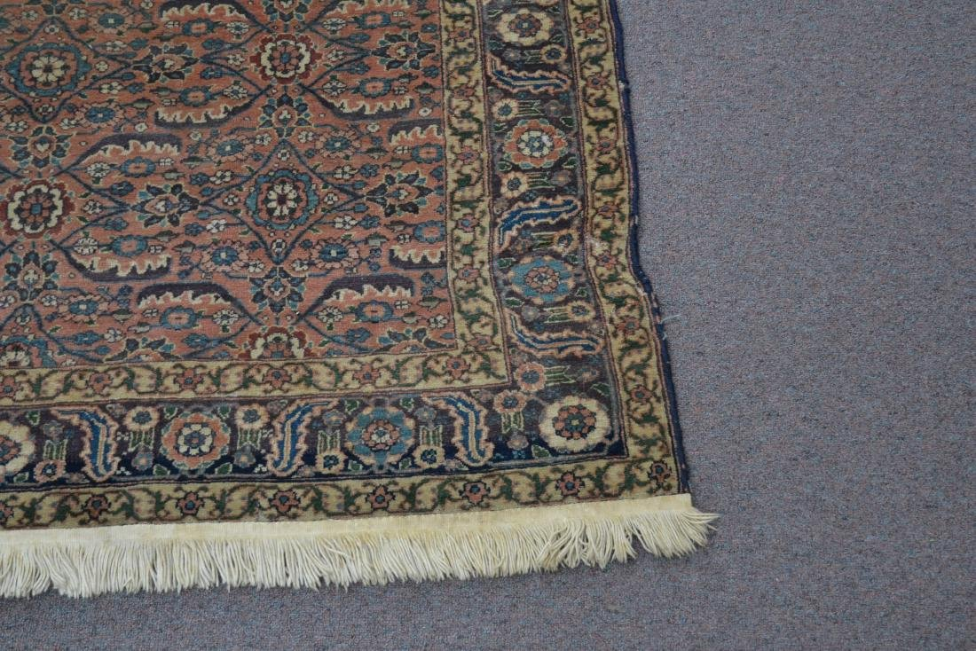 "ANTIQUE 4' 9"" x 6'  RUG - 3"