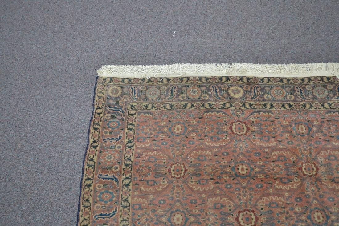 "ANTIQUE 4' 9"" x 6'  RUG - 6"