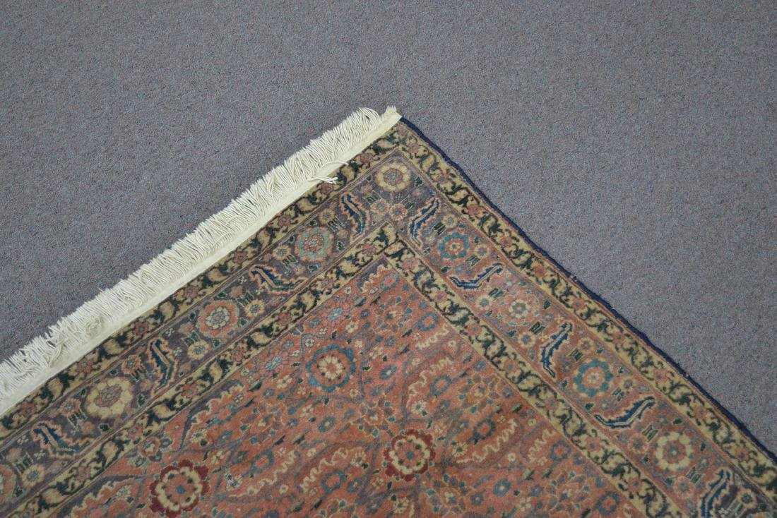 "ANTIQUE 4' 9"" x 6'  RUG - 7"