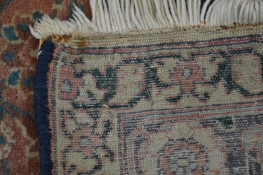 "ANTIQUE 4' 9"" x 6'  RUG - 8"