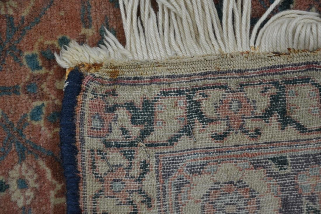 "ANTIQUE 4' 9"" x 6'  RUG - 9"