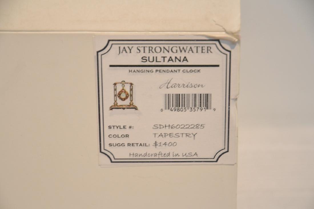 JAY STRONGWATER ENAMELED BRONZE SULTANA - 10