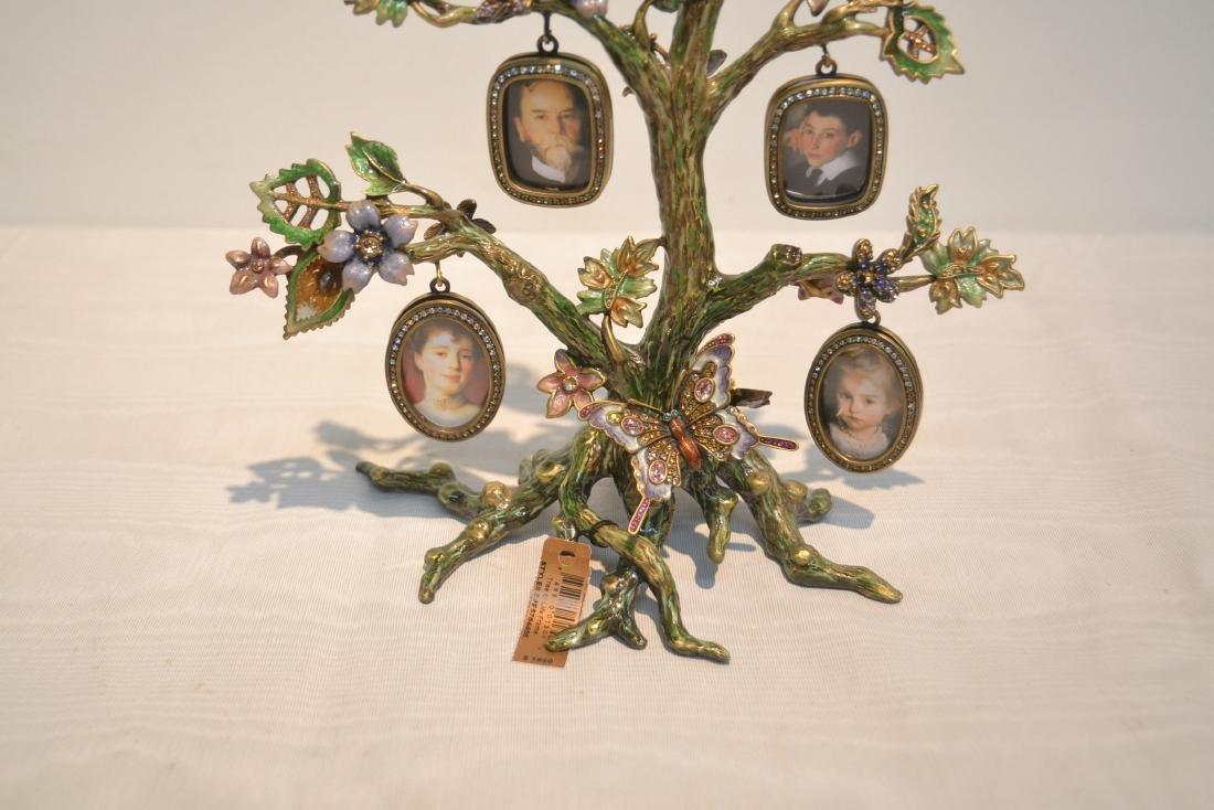 JAY STRONGWATER ENAMELED BRONZE TREE OF LIFE - 9