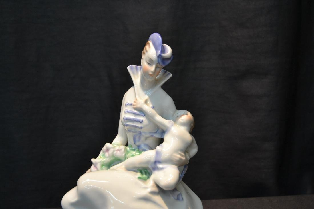 HEREND PORCELAIN MOTHER & CHILD - 2
