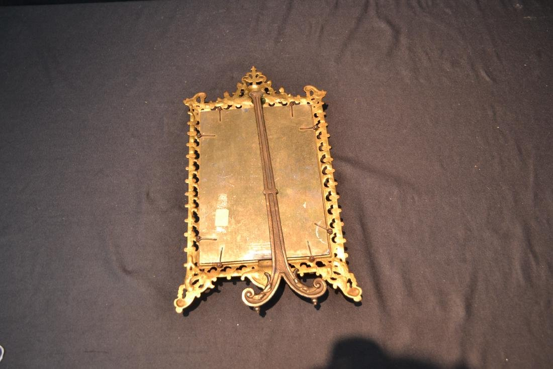 BRONZE TRYPTICH EASEL MIRROR - 8