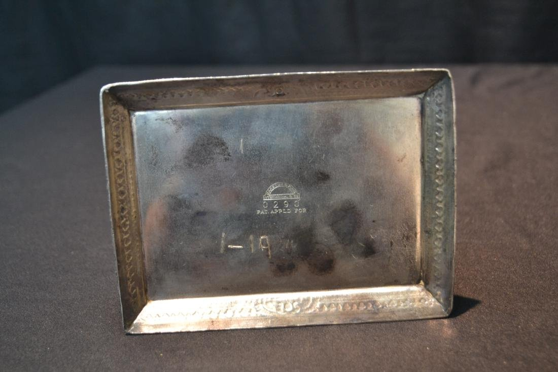 SILVER PLATE EGYPTIAN REVIVAL BOX WITH - 7