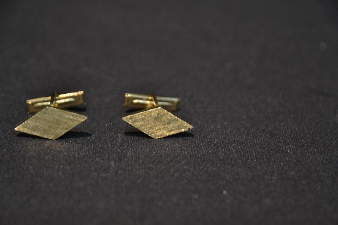 (Pr) 14kt GOLD CUFFLINKS - 6.9grams - 3