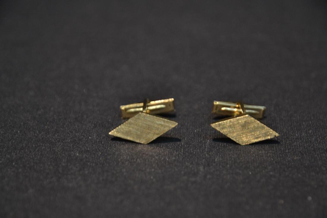 (Pr) 14kt GOLD CUFFLINKS - 6.9grams - 4