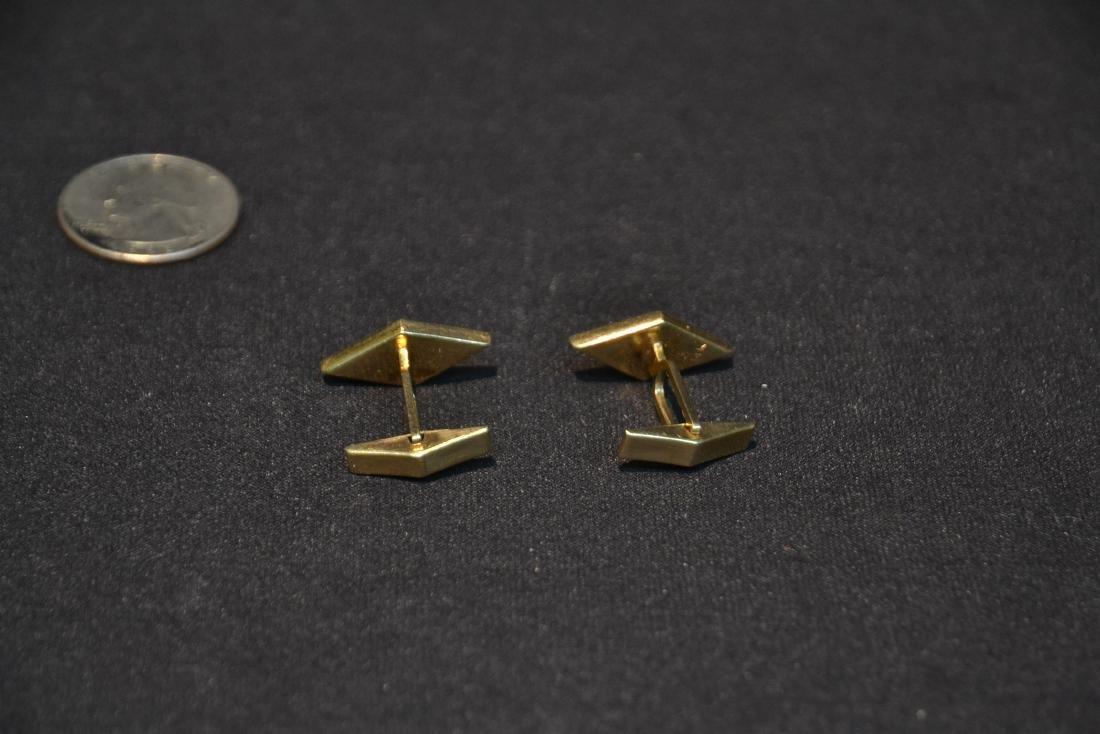 (Pr) 14kt GOLD CUFFLINKS - 6.9grams - 6