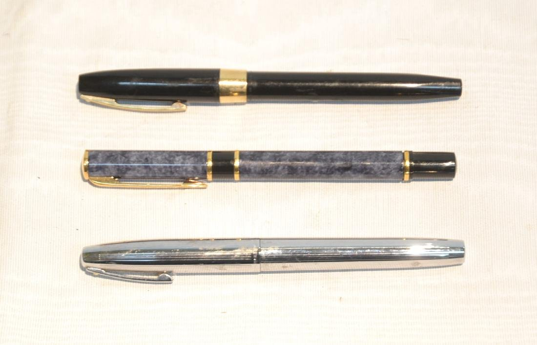 (3) FOUNTAIN PENS TO INCLUDE WATERMAN &