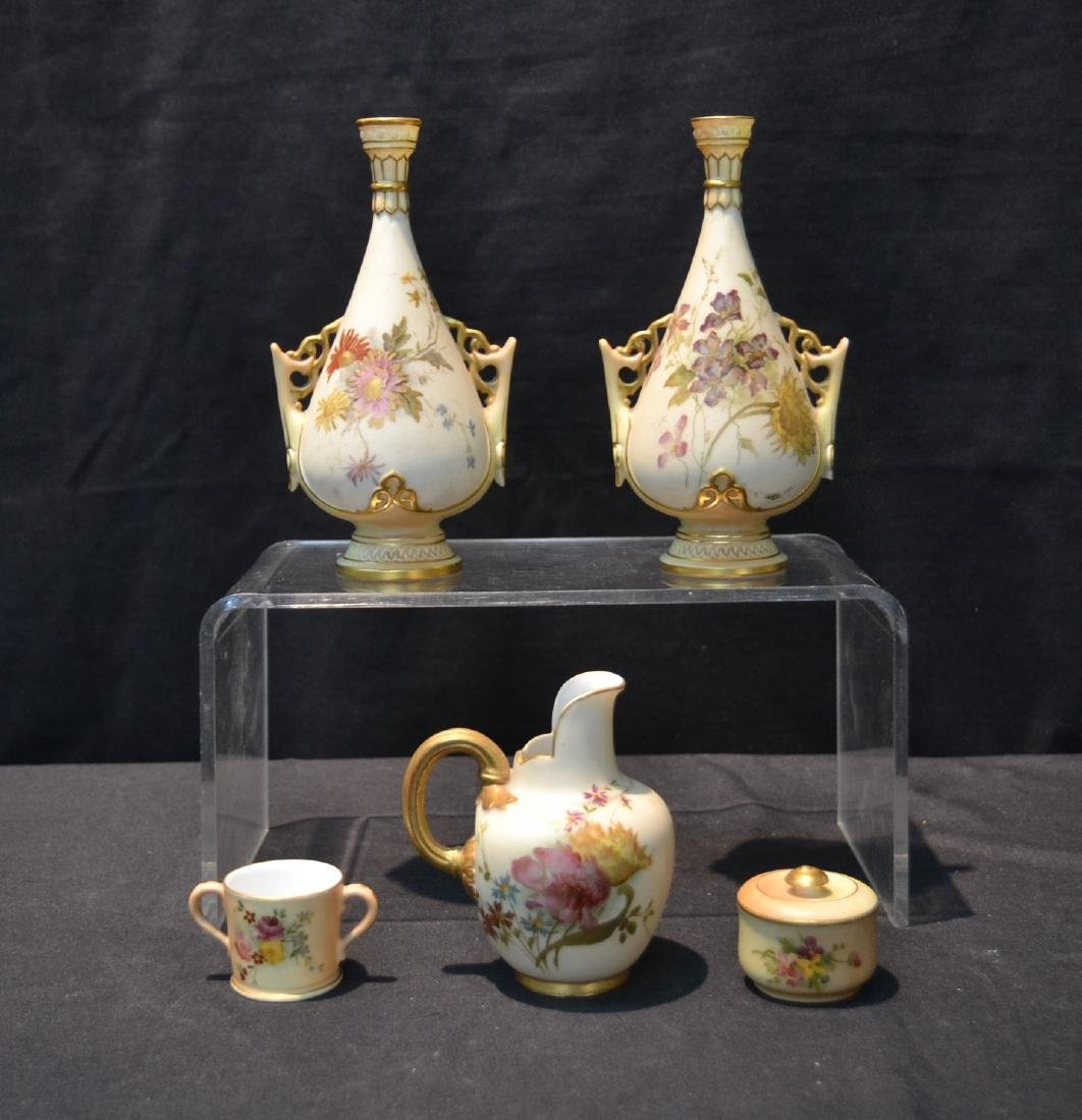 (5)pc's OF ROYAL WORCESTER TO INCLUDE
