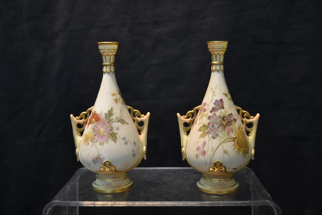 (5)pc's OF ROYAL WORCESTER TO INCLUDE - 3