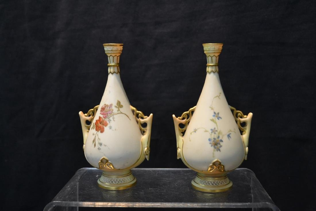 (5)pc's OF ROYAL WORCESTER TO INCLUDE - 4