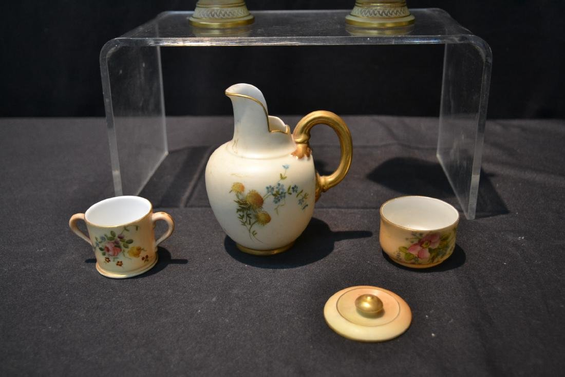 (5)pc's OF ROYAL WORCESTER TO INCLUDE - 6