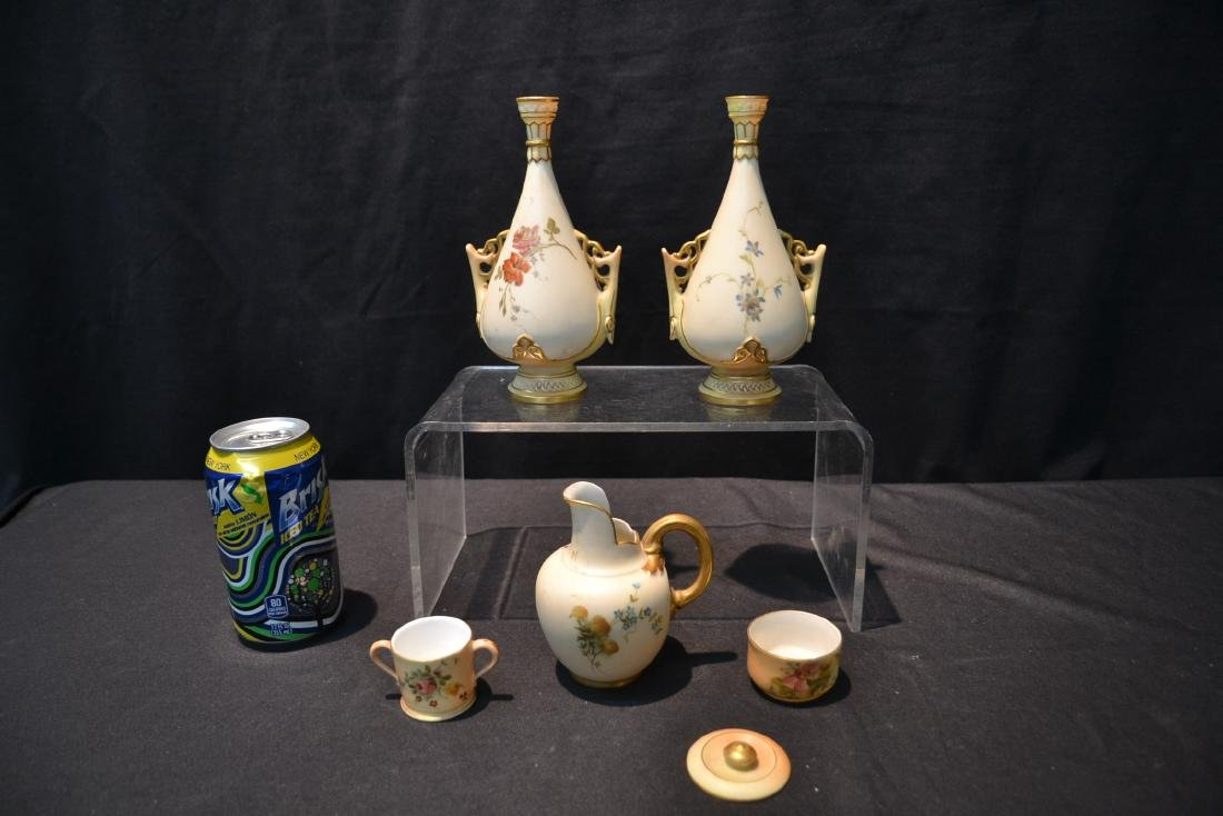 (5)pc's OF ROYAL WORCESTER TO INCLUDE - 7