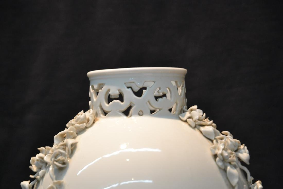 NYMPHENBERG BLANC DE CHINE VASE WITH - 2