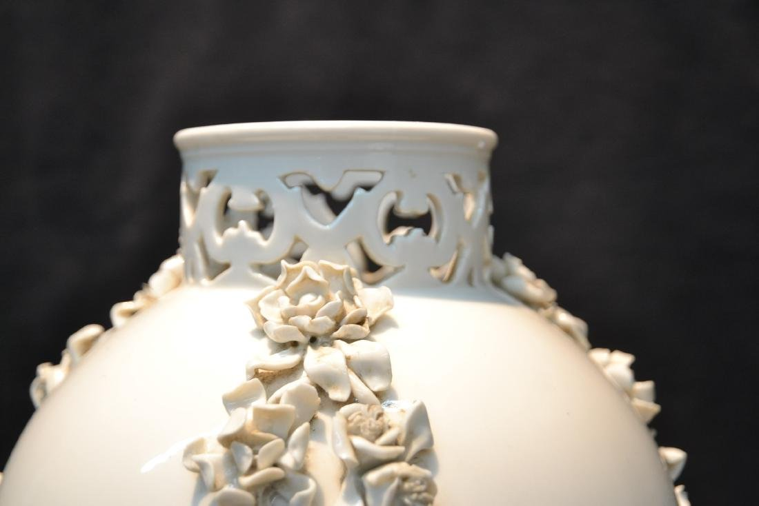 NYMPHENBERG BLANC DE CHINE VASE WITH - 7