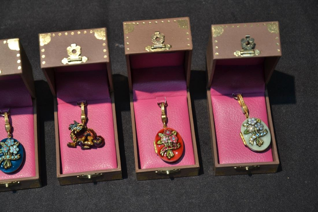 (6) JAY STRONGWATER ENAMELED CHARMS TO INCLUDE - 3