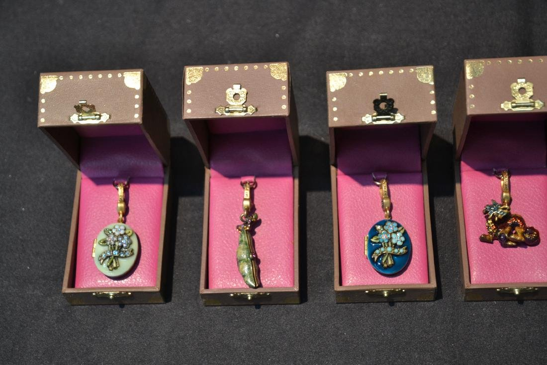 (6) JAY STRONGWATER ENAMELED CHARMS TO INCLUDE - 4