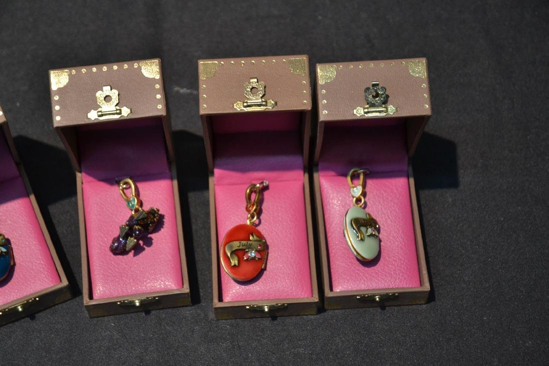 (6) JAY STRONGWATER ENAMELED CHARMS TO INCLUDE - 5