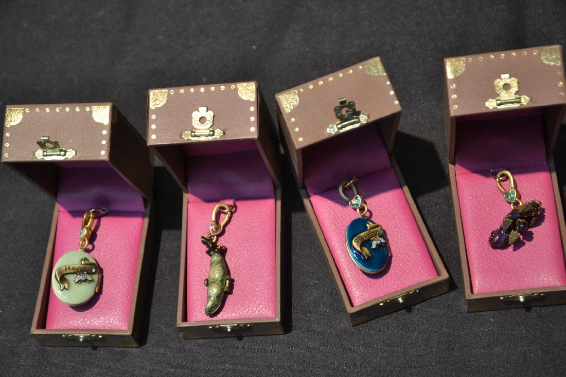 (6) JAY STRONGWATER ENAMELED CHARMS TO INCLUDE - 6