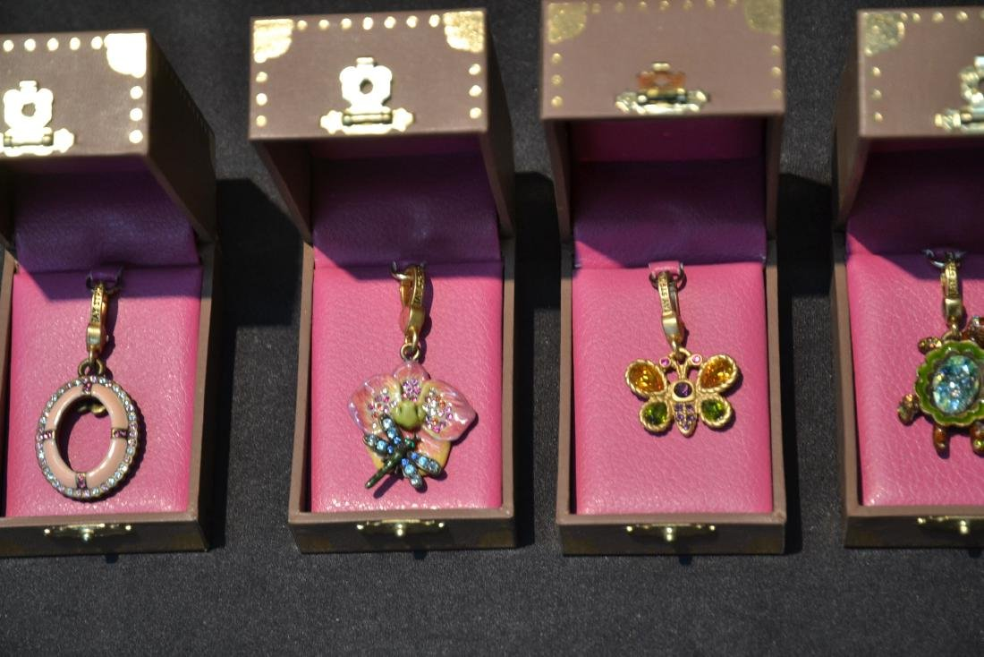 (6) JAY STRONGWATER CHARMS TO INCLUDE - 5