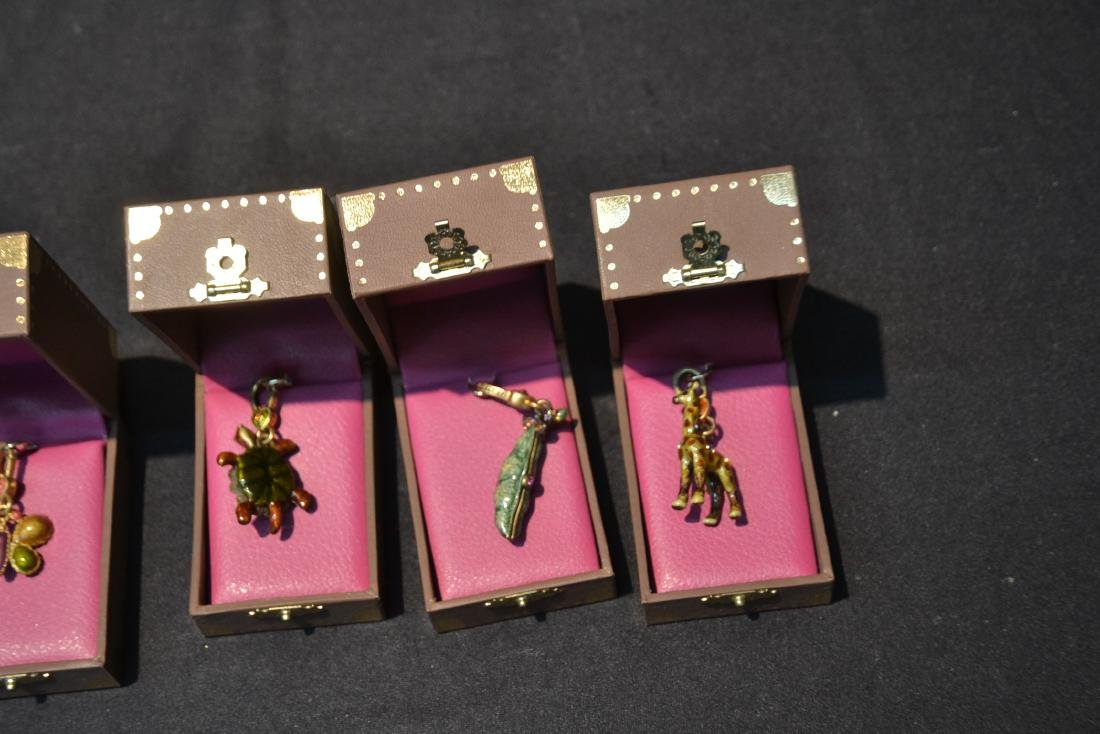 (6) JAY STRONGWATER CHARMS TO INCLUDE - 6