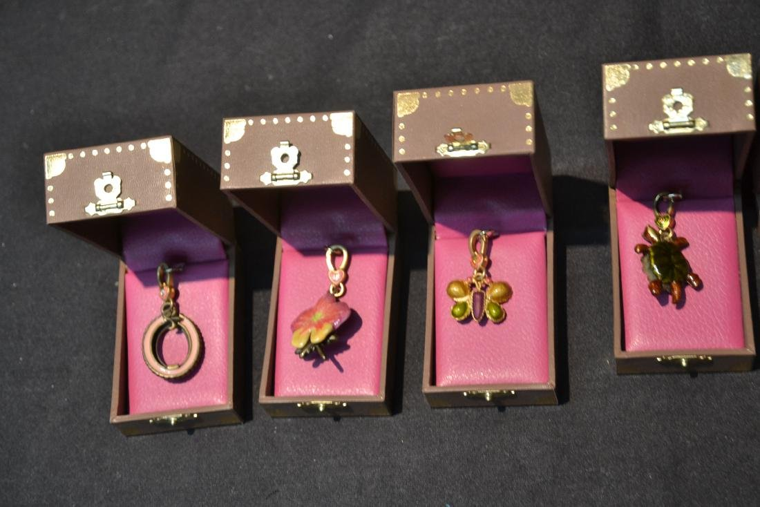 (6) JAY STRONGWATER CHARMS TO INCLUDE - 7