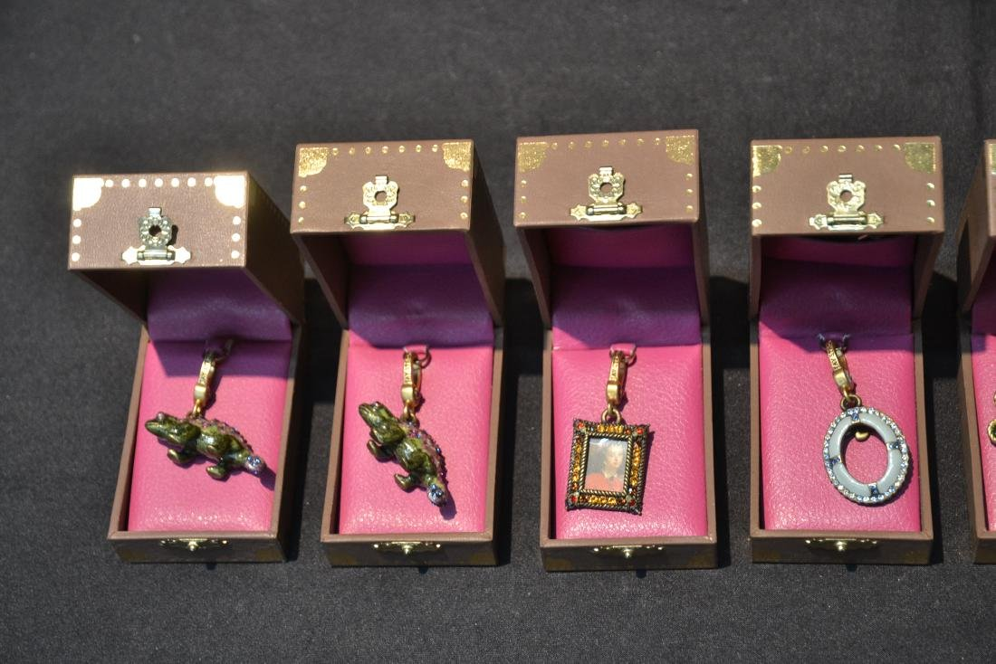 (6) JAY STRONGWATER CHARMS TO INCLUDE - 3