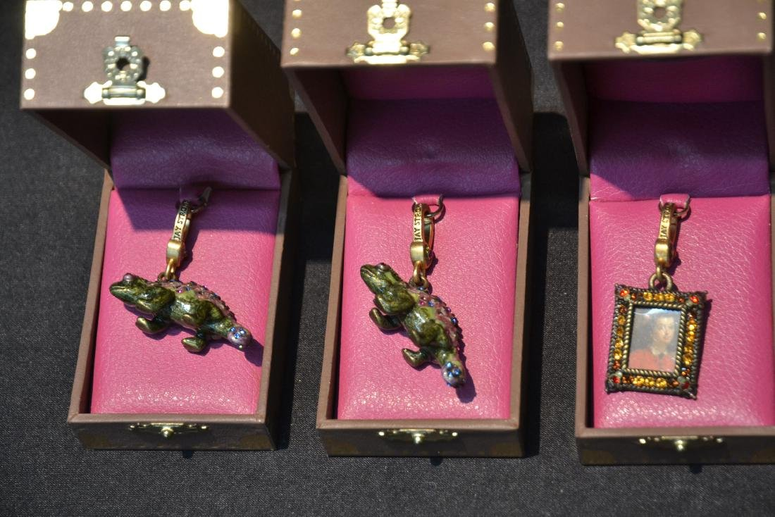 (6) JAY STRONGWATER CHARMS TO INCLUDE - 4