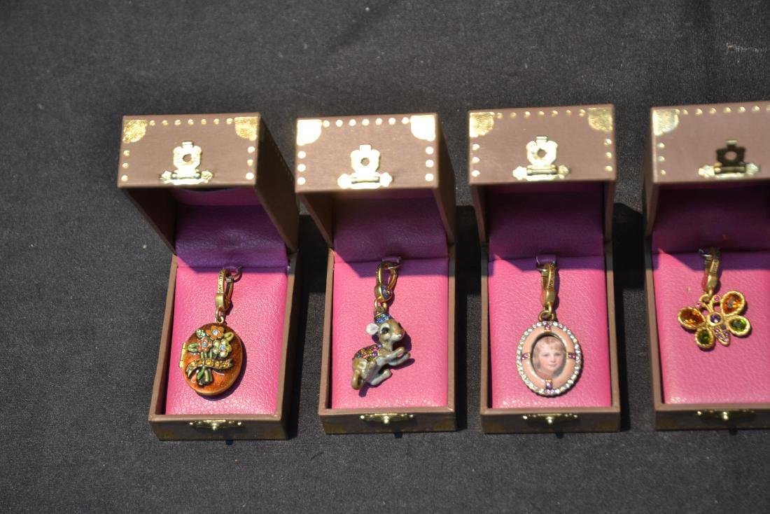 (6) JAY STRONGWATER CHARMS INCLUDING - 5