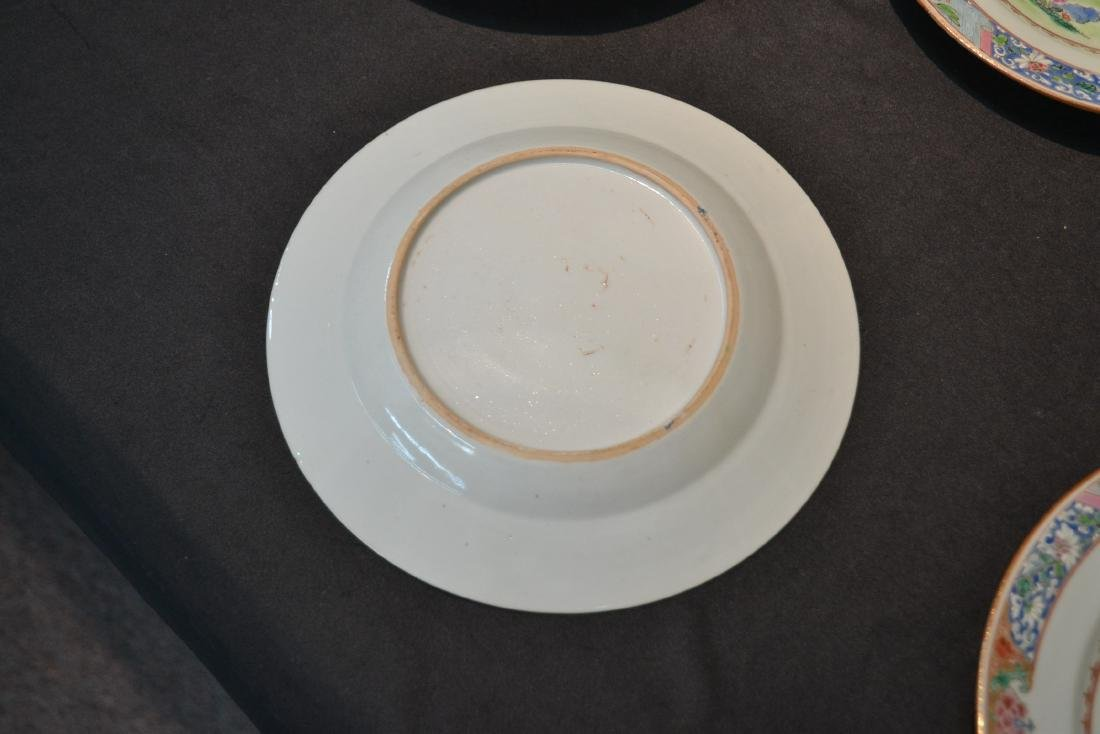 (7) ANTIQUE CHINESE PORCELAIN PLATES WITH - 6