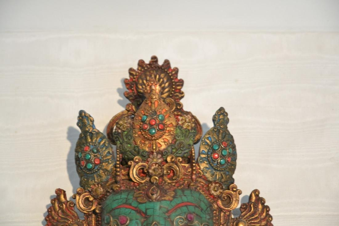 JEWELED LORD GANESHA WALL HANGING - 6
