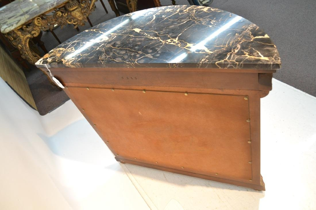EMPIRE STYLE MARBLE TOP CONSOLE WITH - 8
