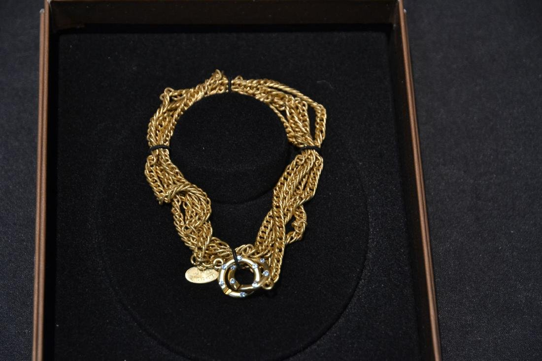 """36"""" JAY STRONGWATER """"ADA"""" CHAIN WITH DOUBLE RING - 4"""