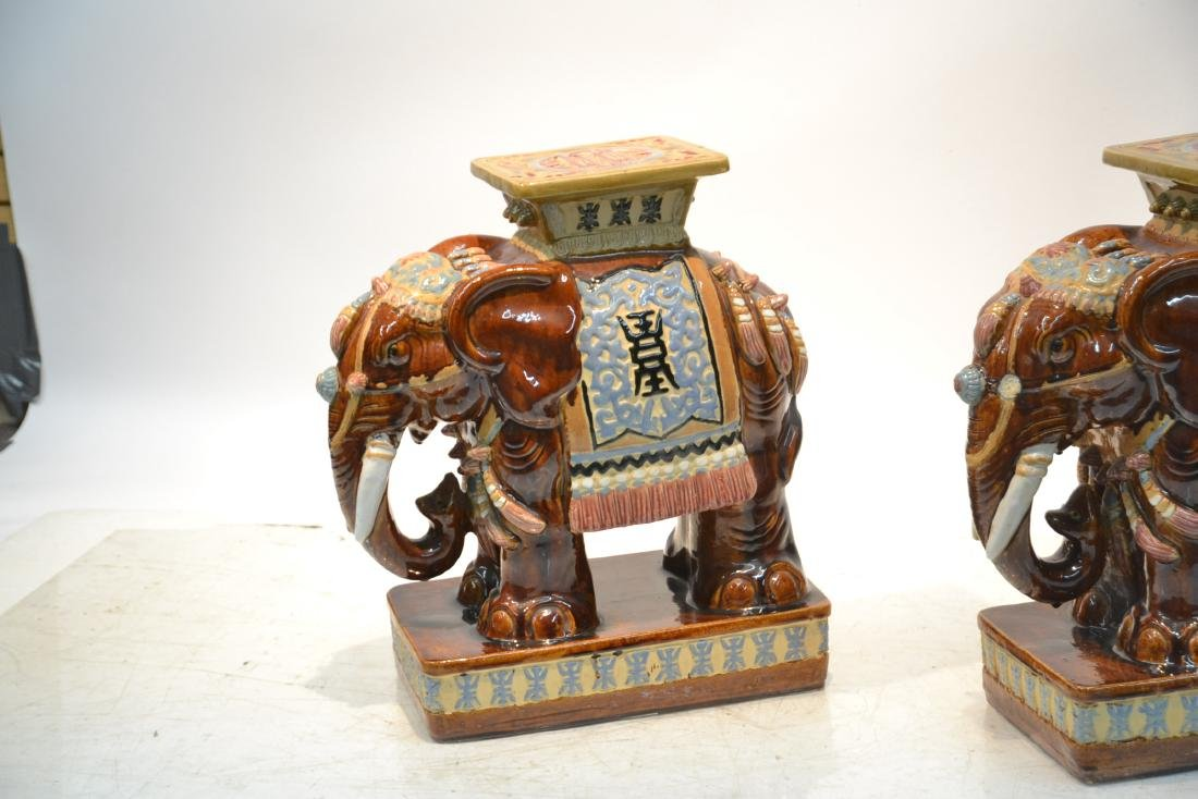 (Pr) ORIENTAL ELEPHANT GARDEN SEATS - 4