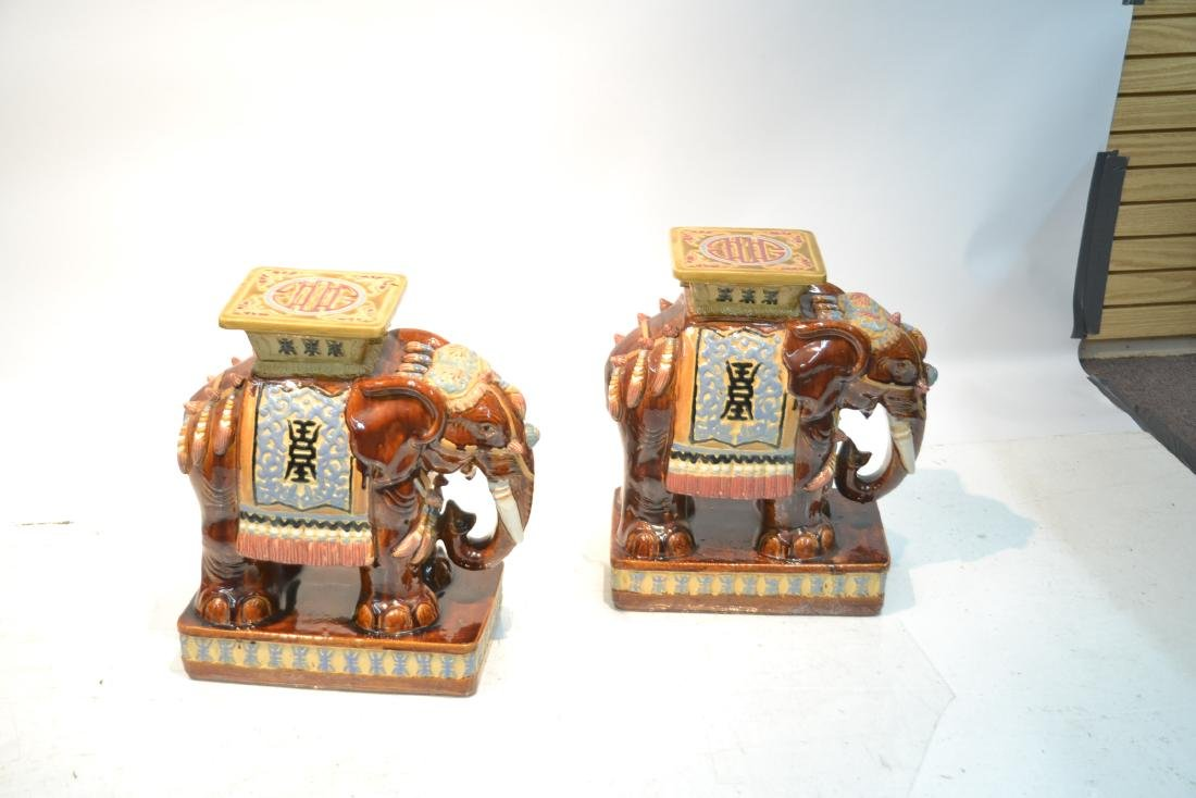 (Pr) ORIENTAL ELEPHANT GARDEN SEATS - 7