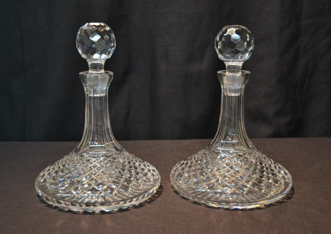 "(Pr) WATERFORD ""ALANA"" PATTERN SHIPS DECANTERS"