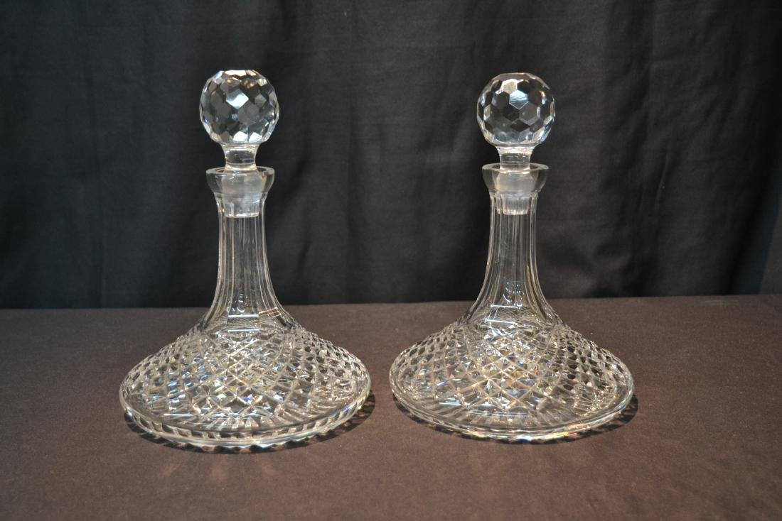 "(Pr) WATERFORD ""ALANA"" PATTERN SHIPS DECANTERS - 2"