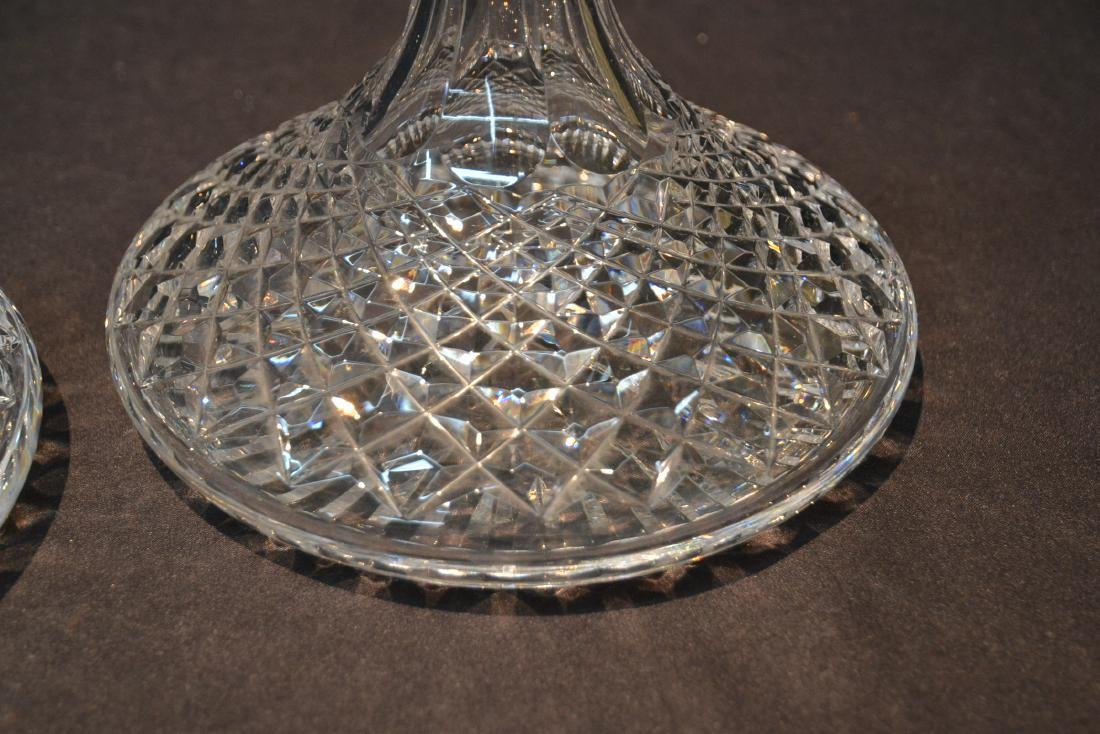 "(Pr) WATERFORD ""ALANA"" PATTERN SHIPS DECANTERS - 4"
