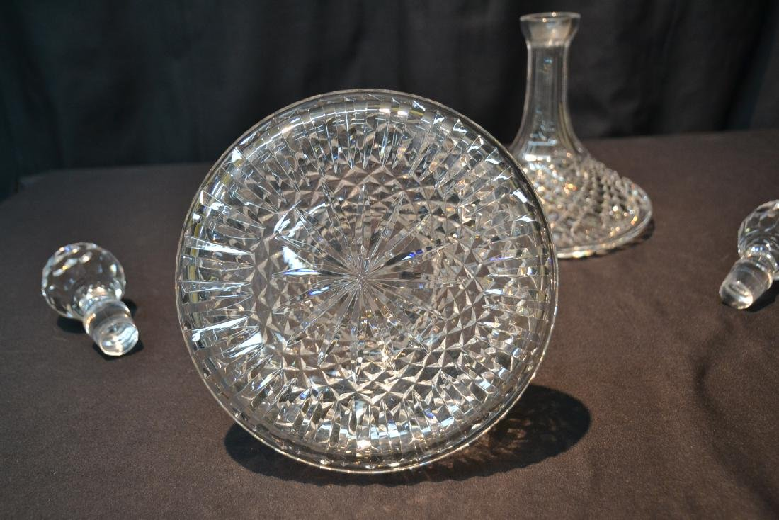 "(Pr) WATERFORD ""ALANA"" PATTERN SHIPS DECANTERS - 7"