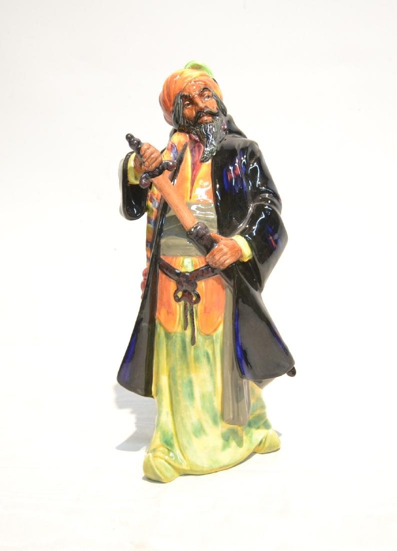 "ROYAL DOULTON BLUE BEARD FIGURINE - 5"" x 11"""