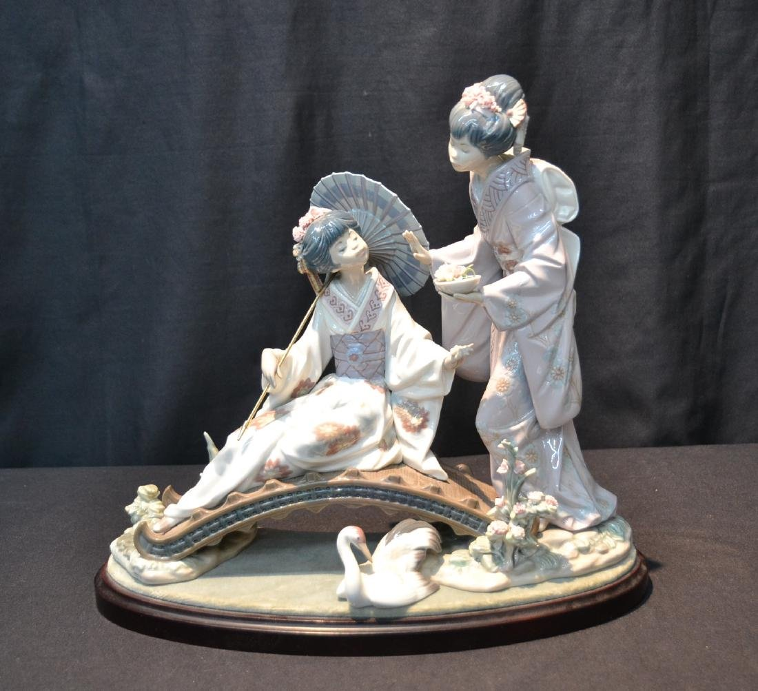 "LLADRO ""SPRINGTIME IN JAPAN"" GEISHA GIRLS"