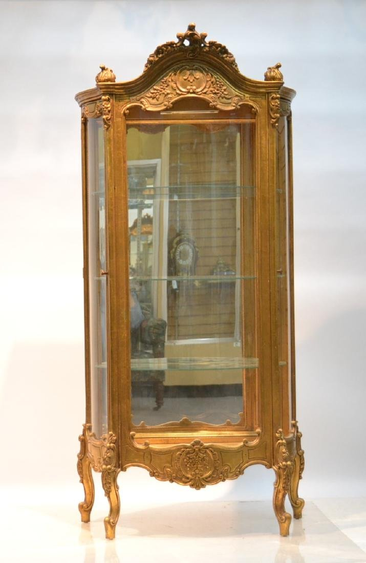 GILTWOOD LXV STYLE CURIO CABINET
