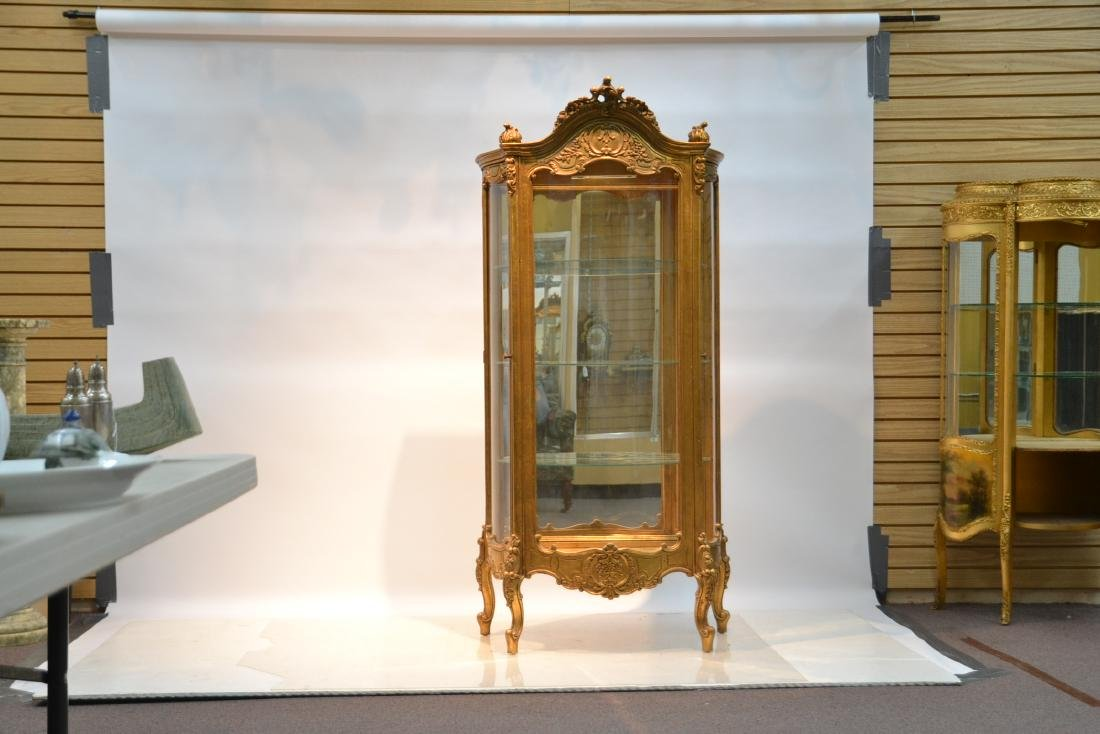 GILTWOOD LXV STYLE CURIO CABINET - 2