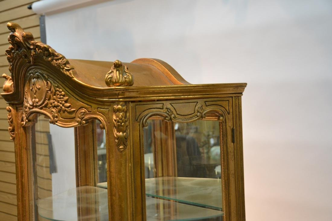 GILTWOOD LXV STYLE CURIO CABINET - 5