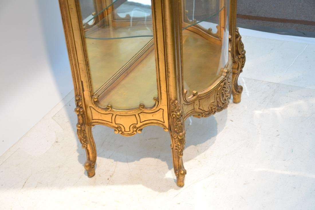 GILTWOOD LXV STYLE CURIO CABINET - 6
