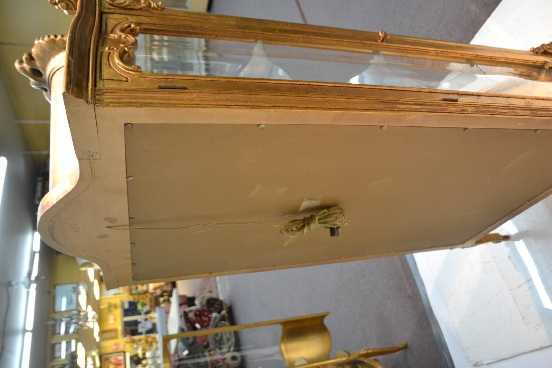 GILTWOOD LXV STYLE CURIO CABINET - 8